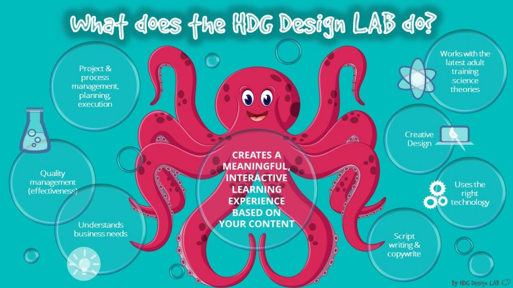 Functions of the HDG Design Lab.
